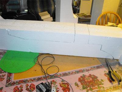 Pierre Tombale en Styrofoam (2/6)